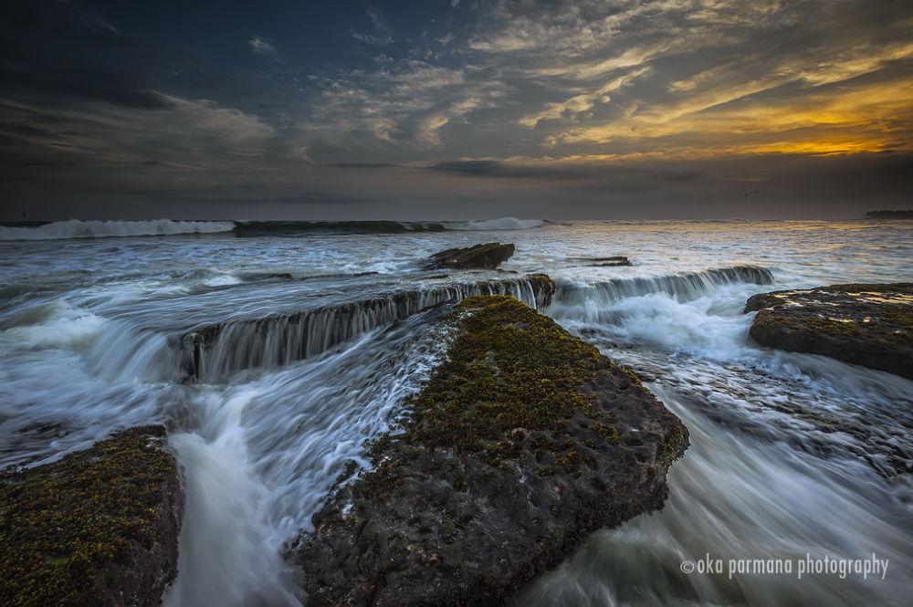 Photo in Landscape #beach #seascape #waterscape #motion #bali #nikon