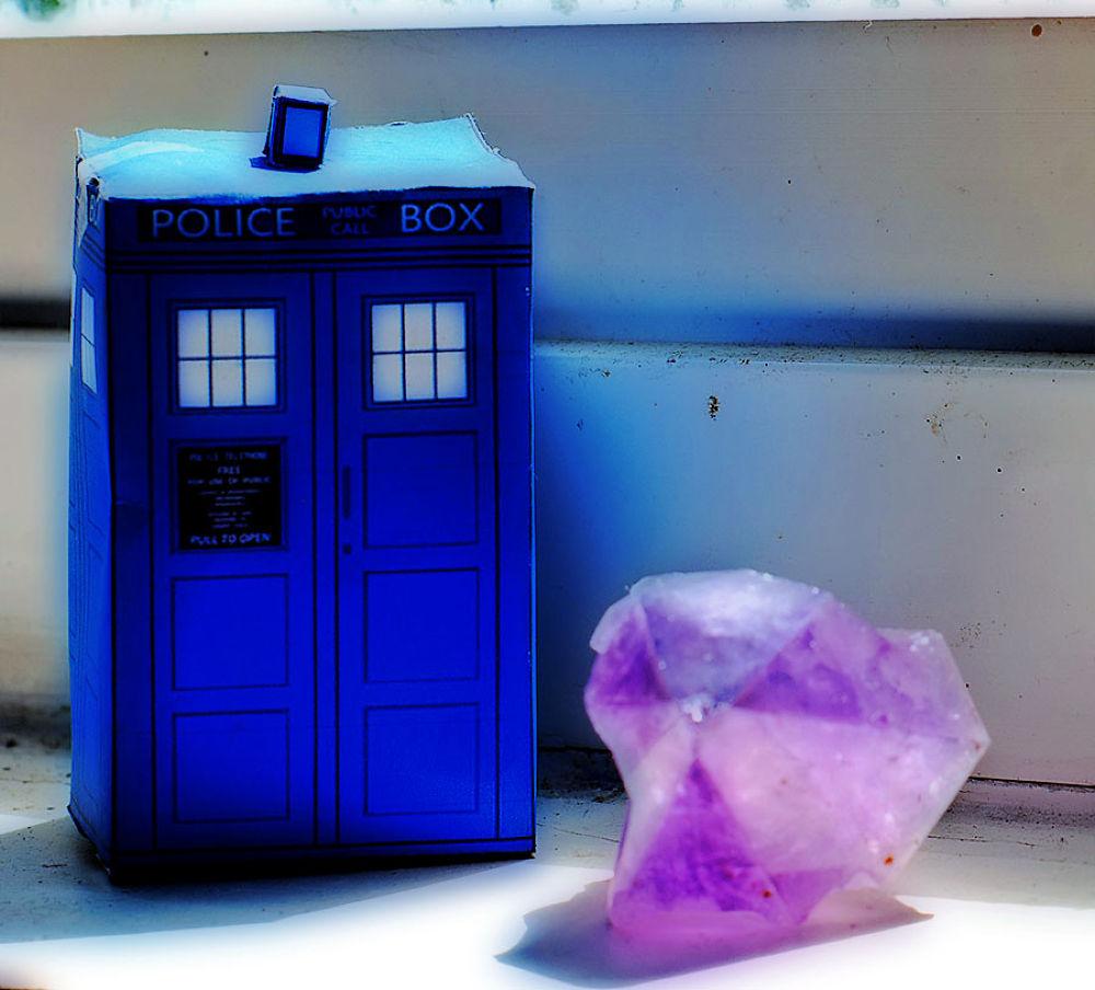 Photo in Random #doctor who #tardis #crystal #photo