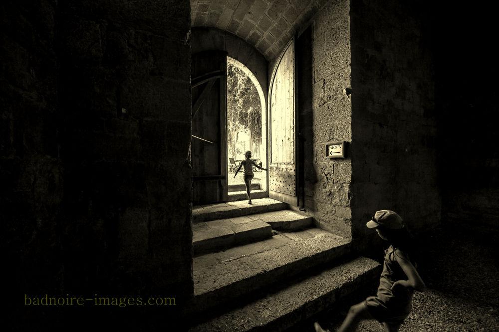 Photo in Street Photography #historical #monastery #lagrasse #children.