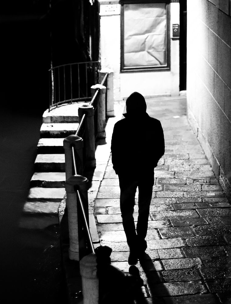 Photo in Street Photography #venice #venezia #italy #street #blackandwhite