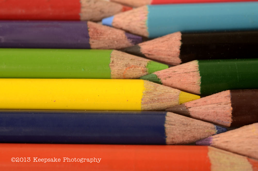 Photo in Still Life #pencil #pencils #colored pencils #colores #red #orange #yellow #purple #blue #brown
