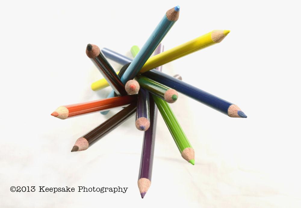 Photo in Still Life #colored pencils #colors #pencils #bunch #fun