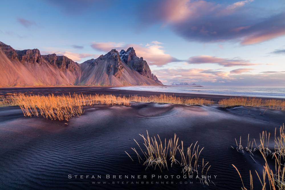 Photo in Landscape #landscape #icelandscape #iceland #mountain #stokksnes #sand #beach