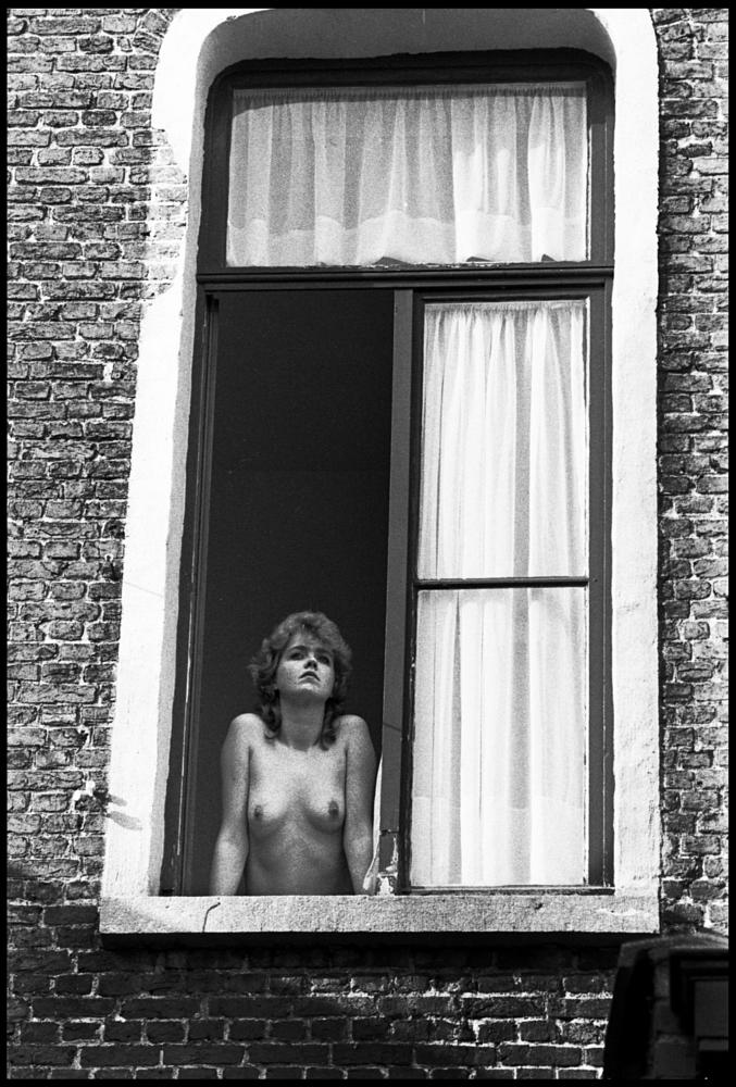 Photo in Black and White #girls #nude #window