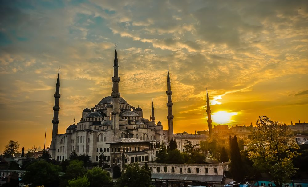 Photo in Random #istanbul #turkey #sun set #ypa2013