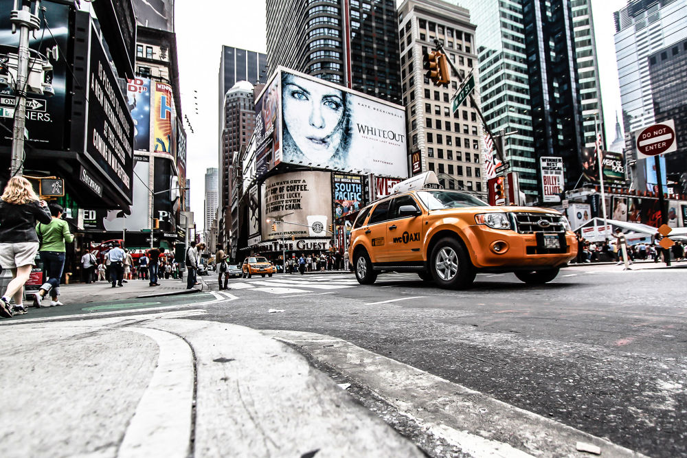 Photo in Street Photography #taxi #new york