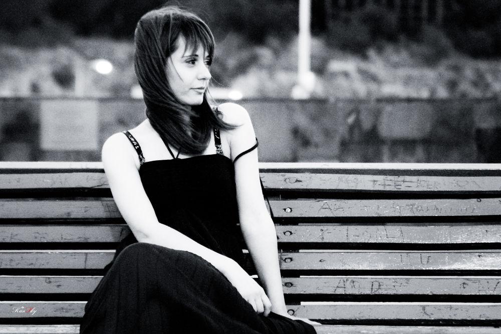 Photo in Black and White #girl #radiance #yerevan #armenia
