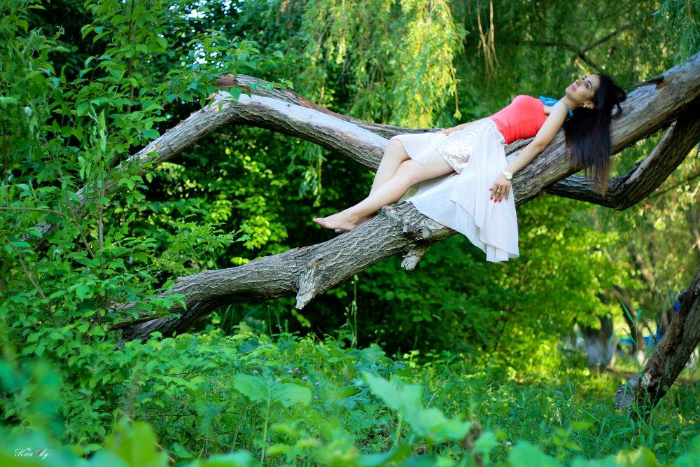Photo in Random #nature #yerevan #armenia #park #tree #girl