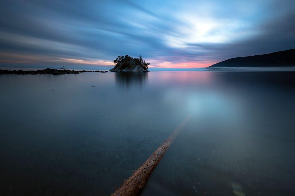 Photo in Landscape #landscape #background #wallpaper #island #long exposure #ocean #sea #vancouver