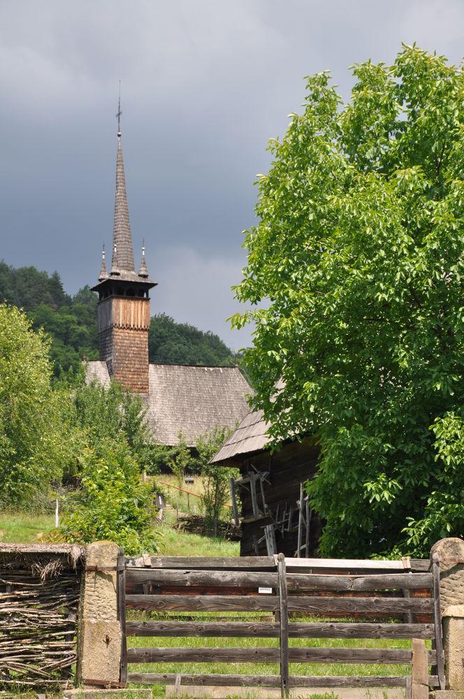 Photo in Architecture #maramures #wooden church #heritage #village museum #transylvania