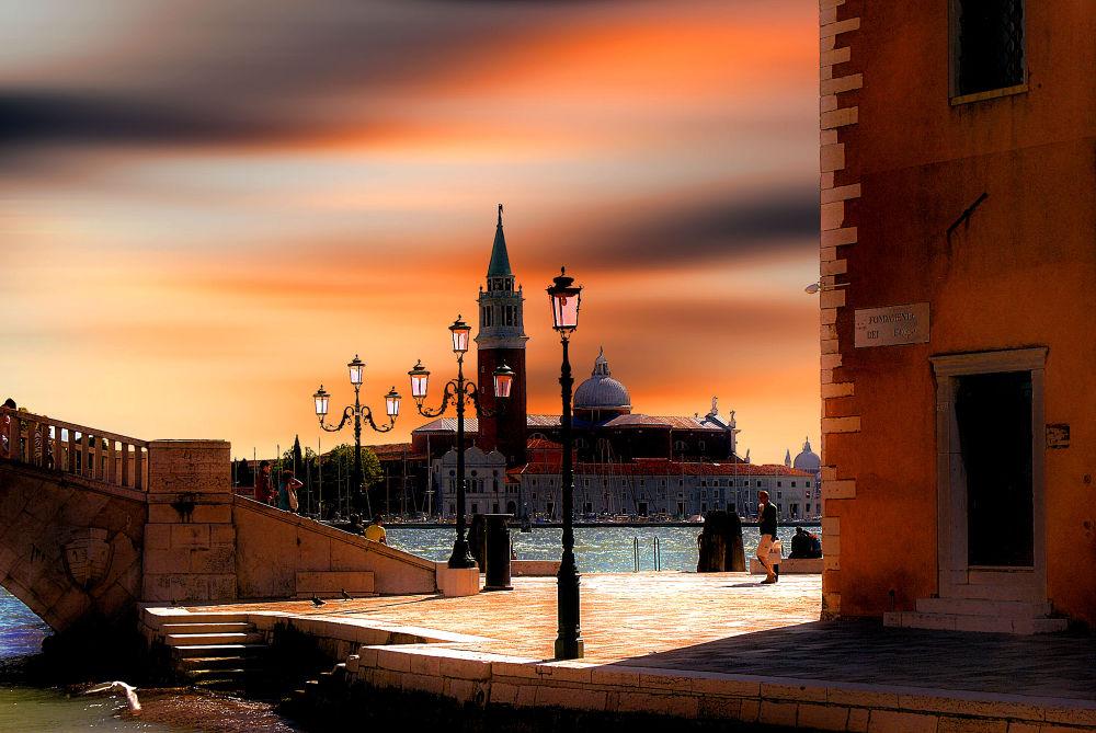 Photo in Random #venice #italy #sunset #travel #san giorgio maggiore #city #cityscape #ypa2013