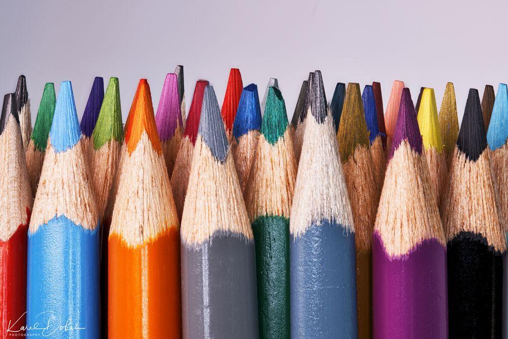 Photo in Macro #focus #stacking #crayons #czech #prague