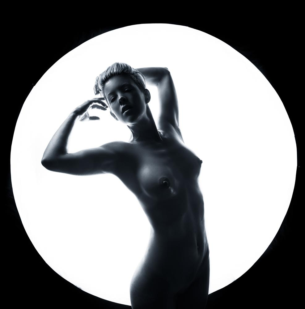 Photo in Nude #nude #desnudo #au naturel #topless #sexy #beautiful #women #girl #silhouette #boobs #circle of light #shadows #jdanda #jdanda imagery