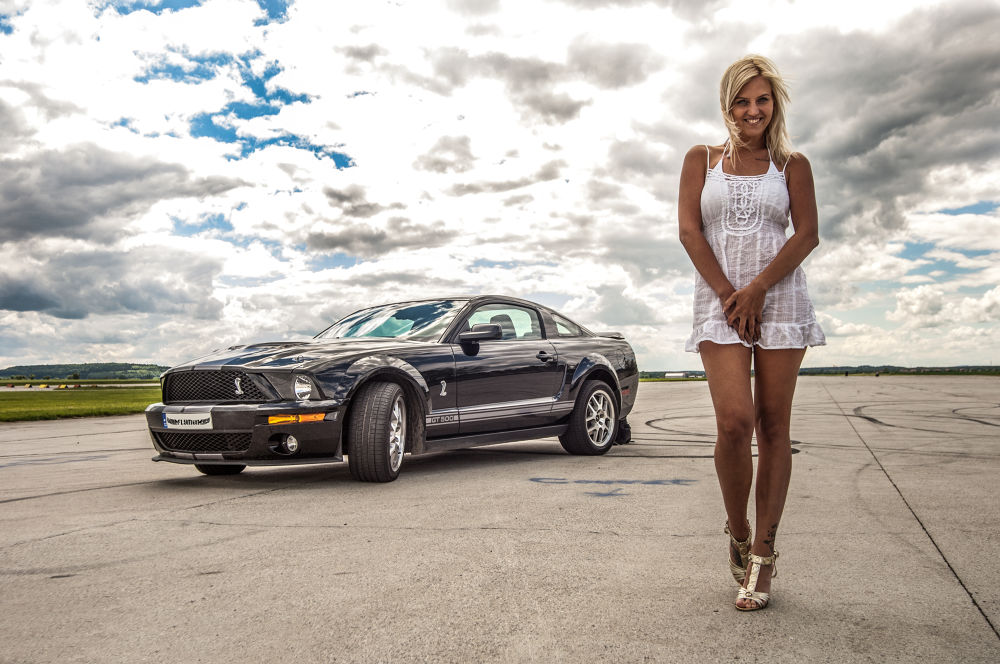 Photo in Fashion #mustang #girl #shoes #runway #shleby #blond
