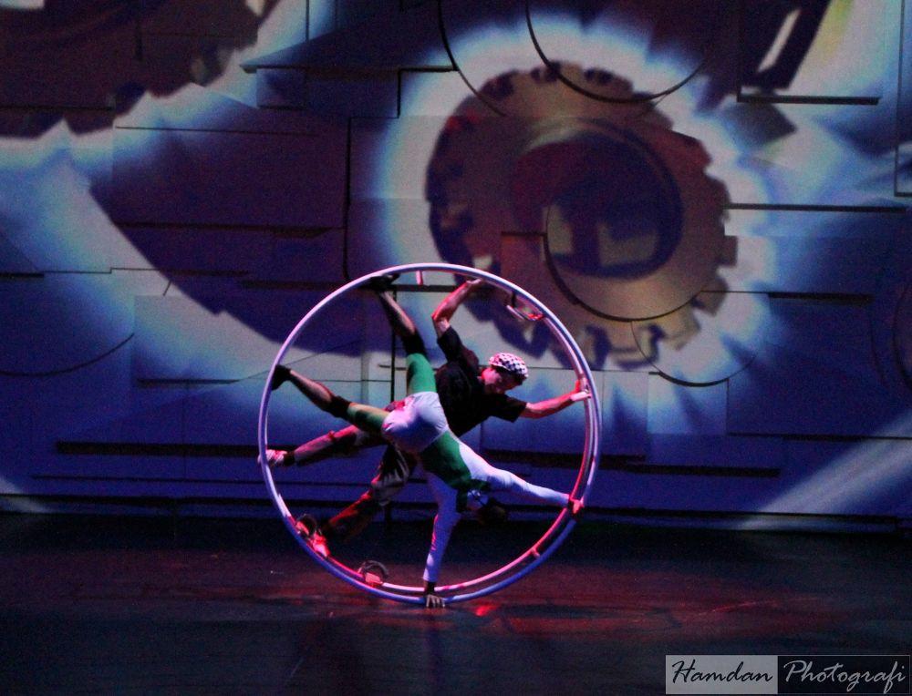 Photo in Random #ferrari world #round #circle #circus
