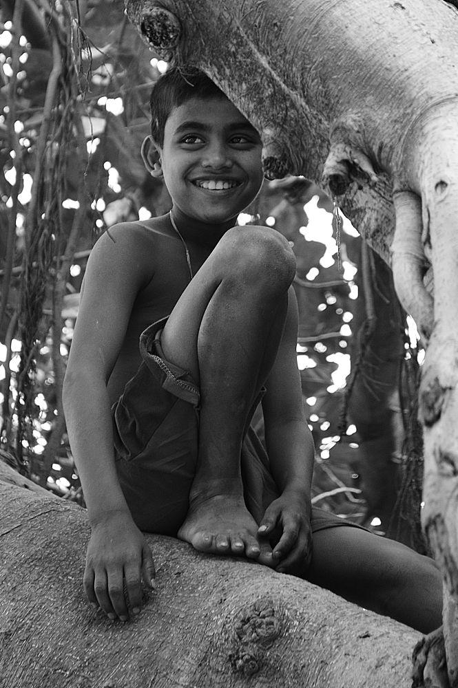 Photo in Portrait #children #childhood #simplicity #smile #boy