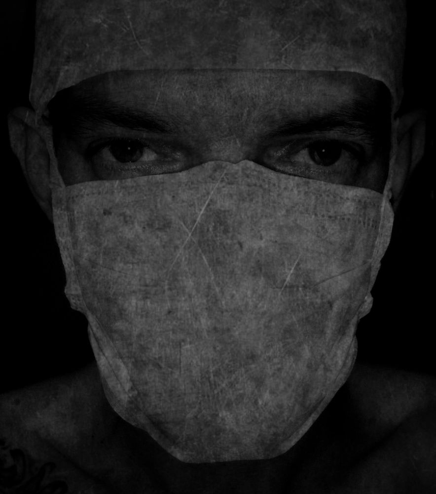 Photo in Random #selfportrait strange dark art
