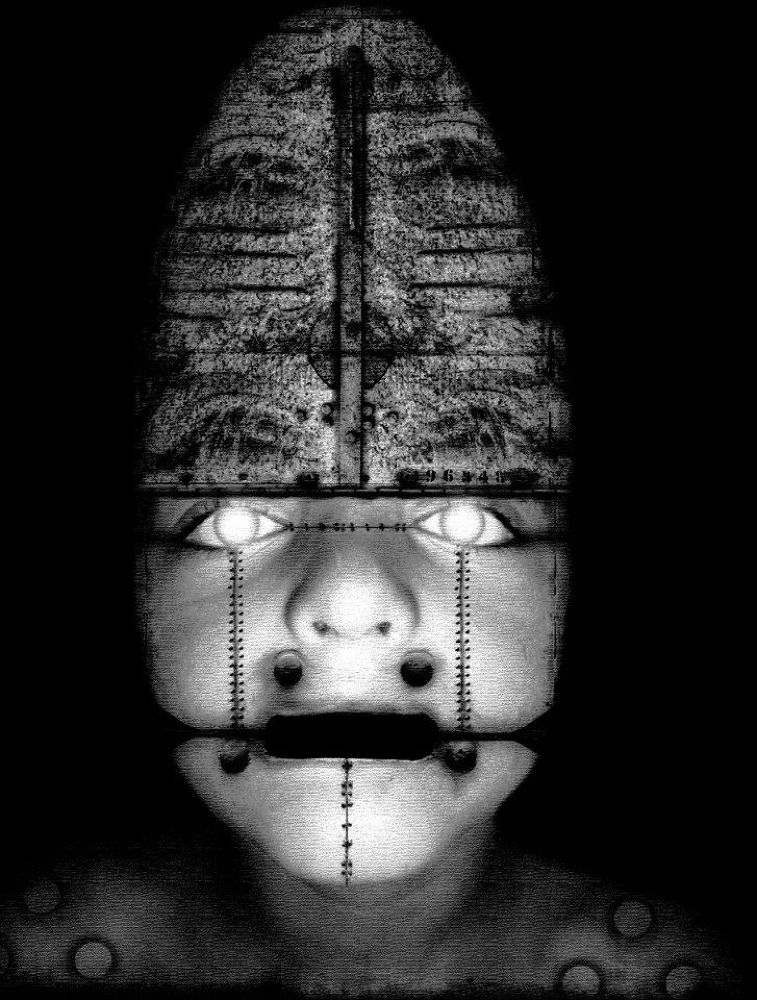 Photo in Random #dark cyborg cyber art photoman