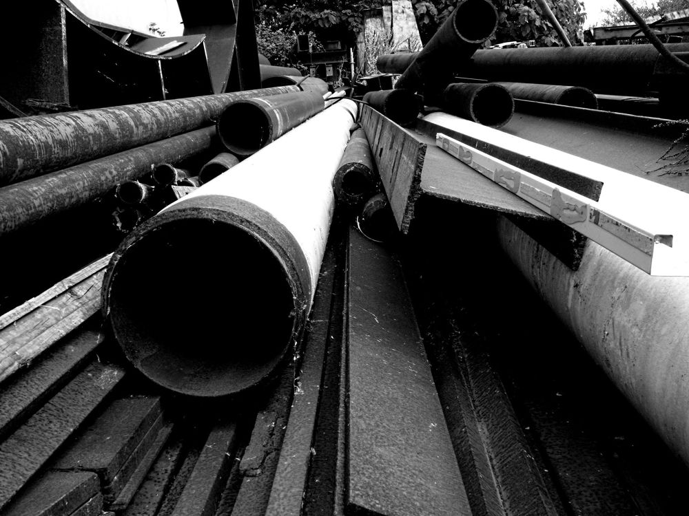 Photo in Random #black and white industry photo