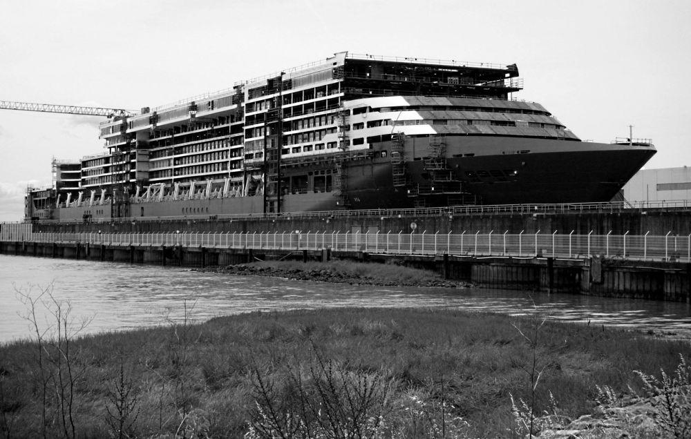 Photo in Random #industrial boat industry black