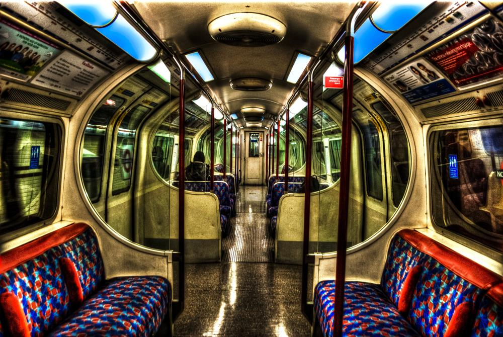 Photo in Street Photography #london #underground #people #colour #hdr