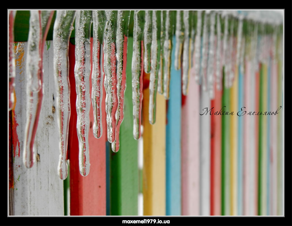Photo in Nature #nature #icicles ice