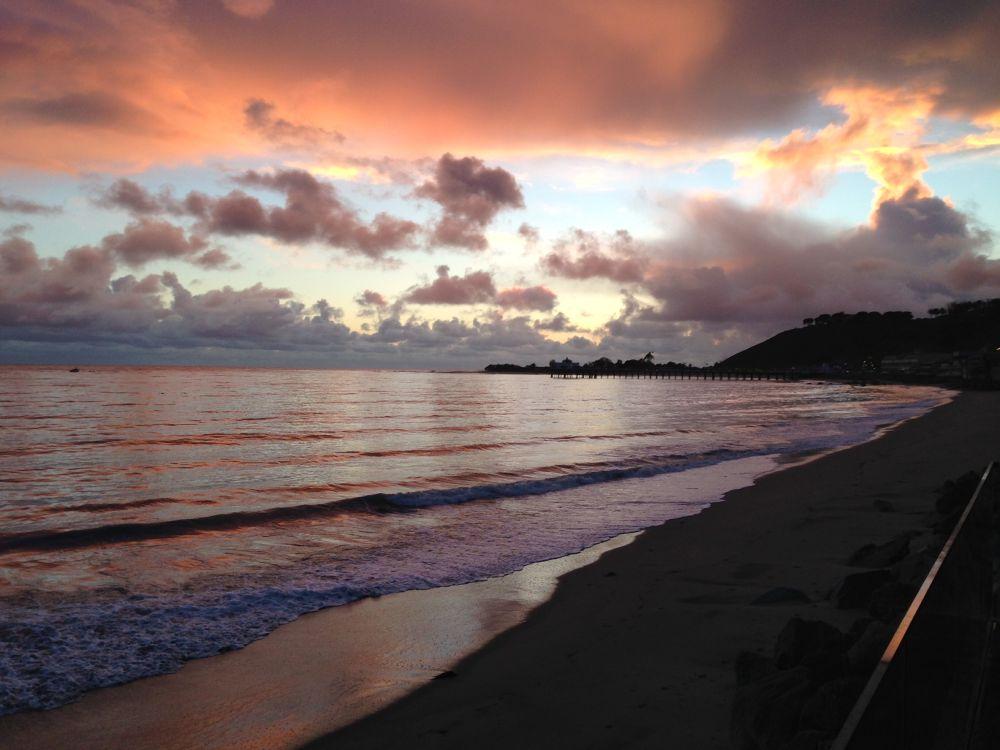 Photo in Sea and Sand #carbon beach malibu billion #ypa2013 beach malibu winte