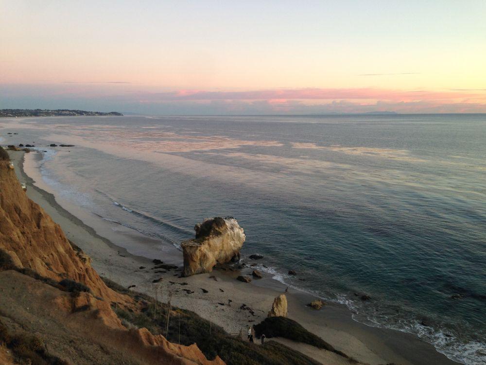 Photo in Sea and Sand #el matador beach malibu cal