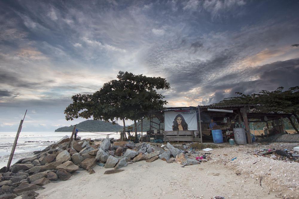 Photo in Landscape #permatang damar laut #sunset.