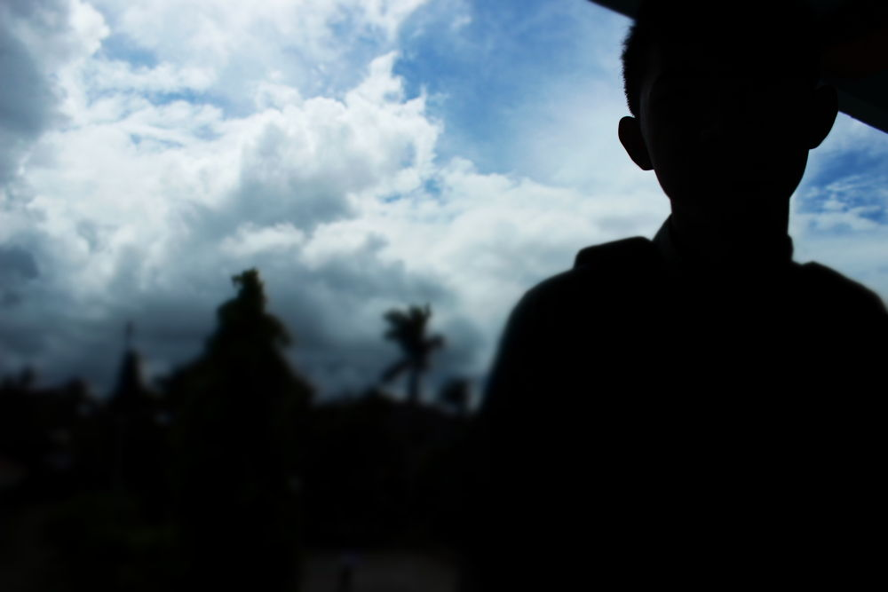 Photo in Random #friend #sky #blue