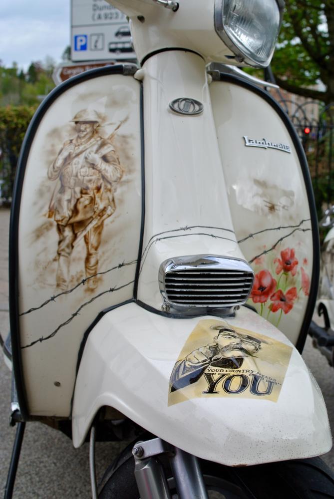 Photo in Vehicle #lambretta #ww1 #scotland