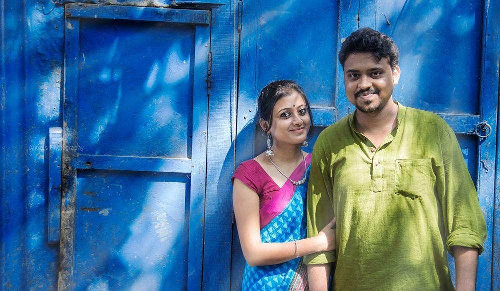 Photo in Portrait #people #portrait #day #light #bright #blue #contrust