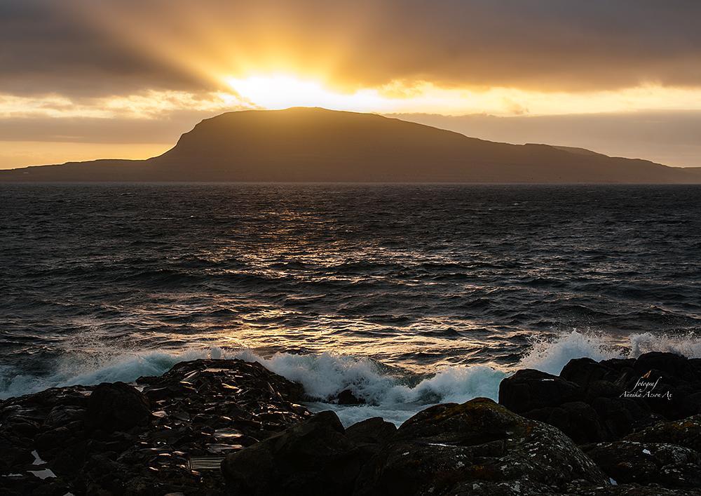 Photo in Landscape #sunrise #island #sea