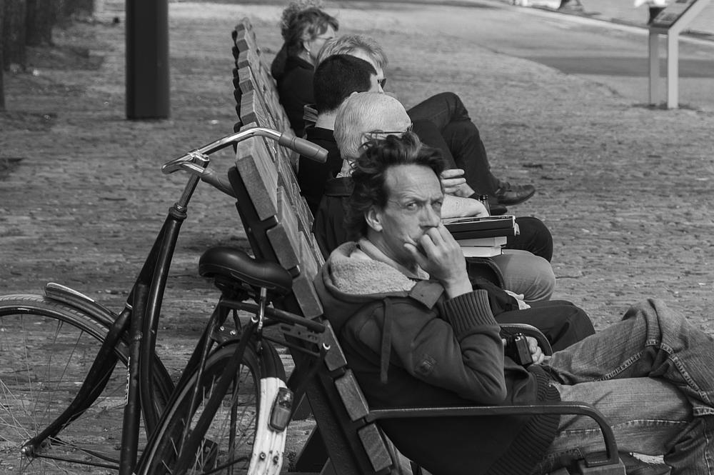Photo in Random #bicycle #bench