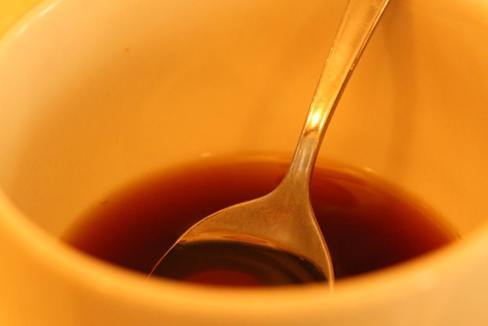 Photo in Macro #coffee #cup
