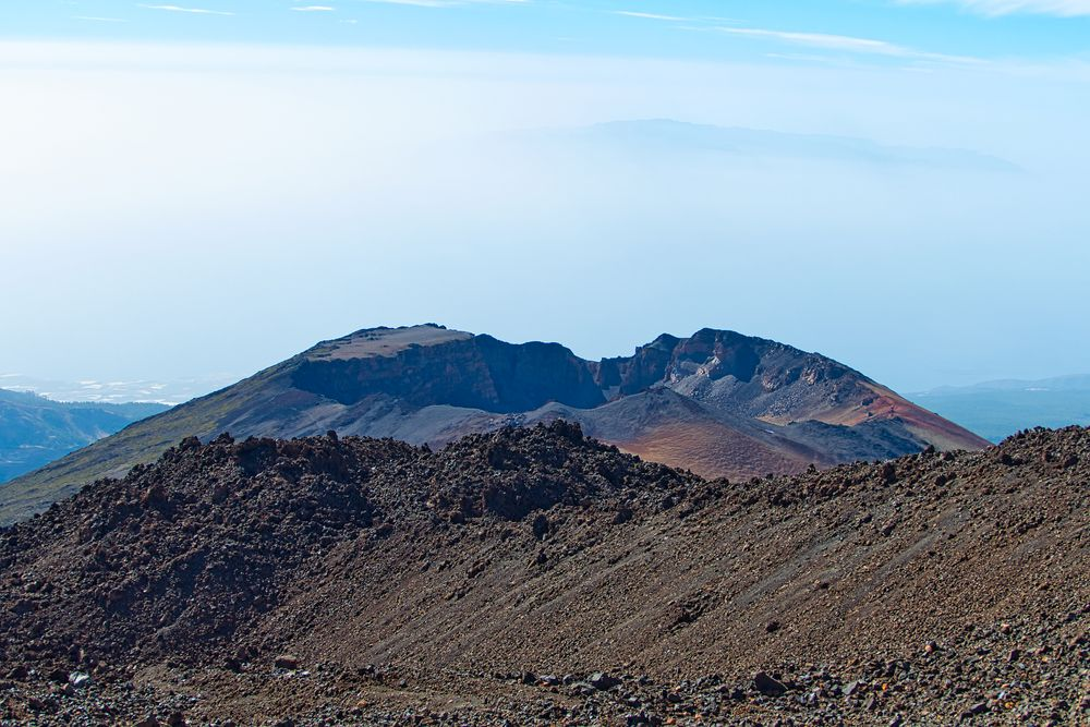 Photo in Landscape #volcano #teide #crater