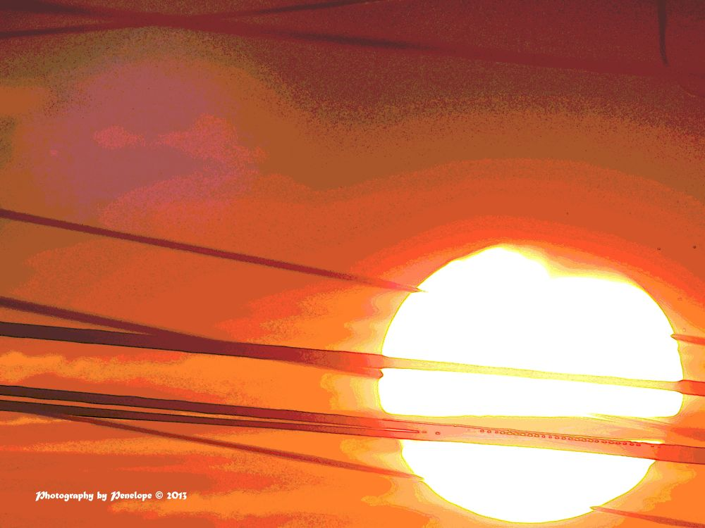 Photo in Abstract #sunset #abstract #summer