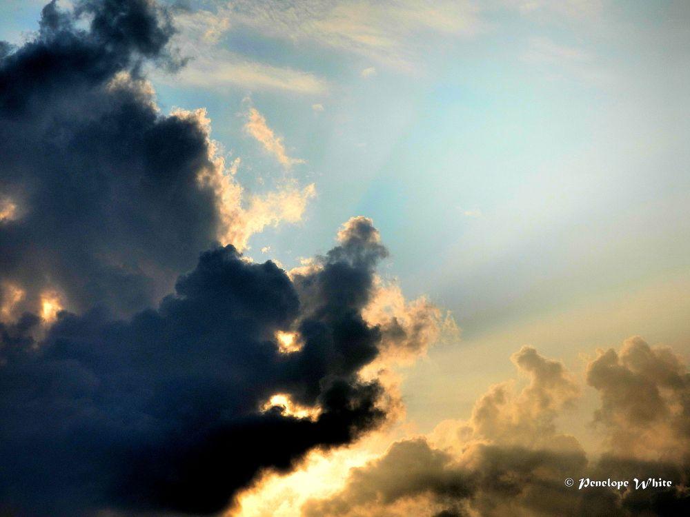 Photo in Random #sky #storm clouds