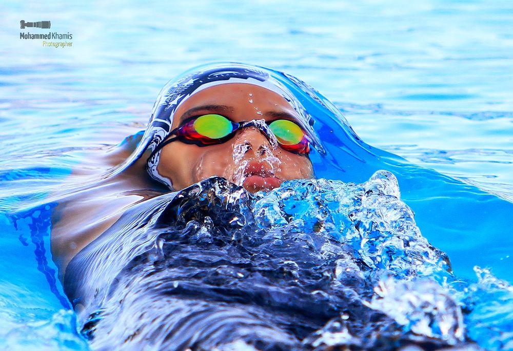 Photo in Sports #sports #activity #amman #challenge #championship #force #jordan #pool #swimmer #water #win