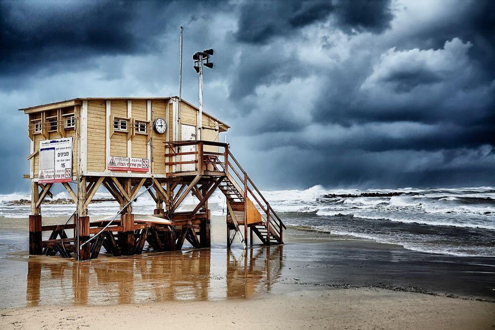 Photo in Landscape #sea #winter #storm #tal flint