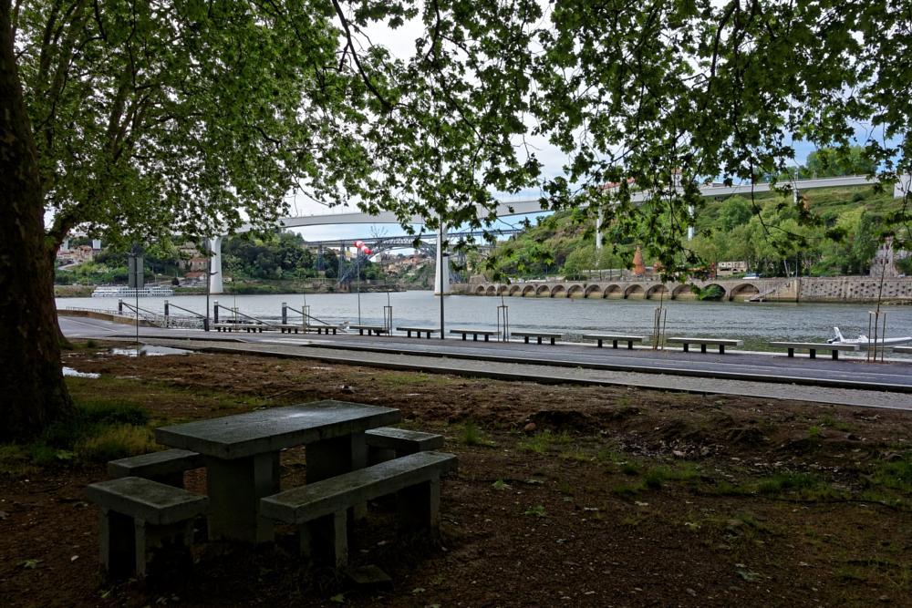 Photo in Landscape #vn gaia #porto #freixo #river #douro