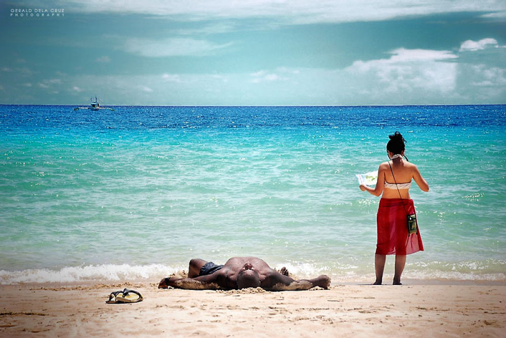 Photo in Travel #boracay #lost #rest #map #lady #beach #tour