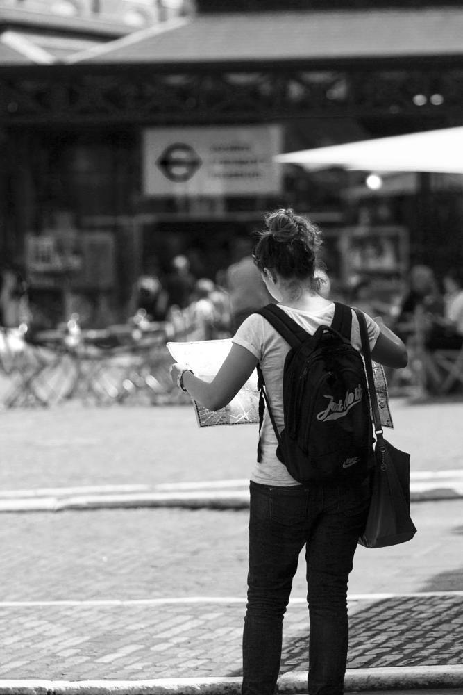 Photo in Street Photography #tourist #lady tourist