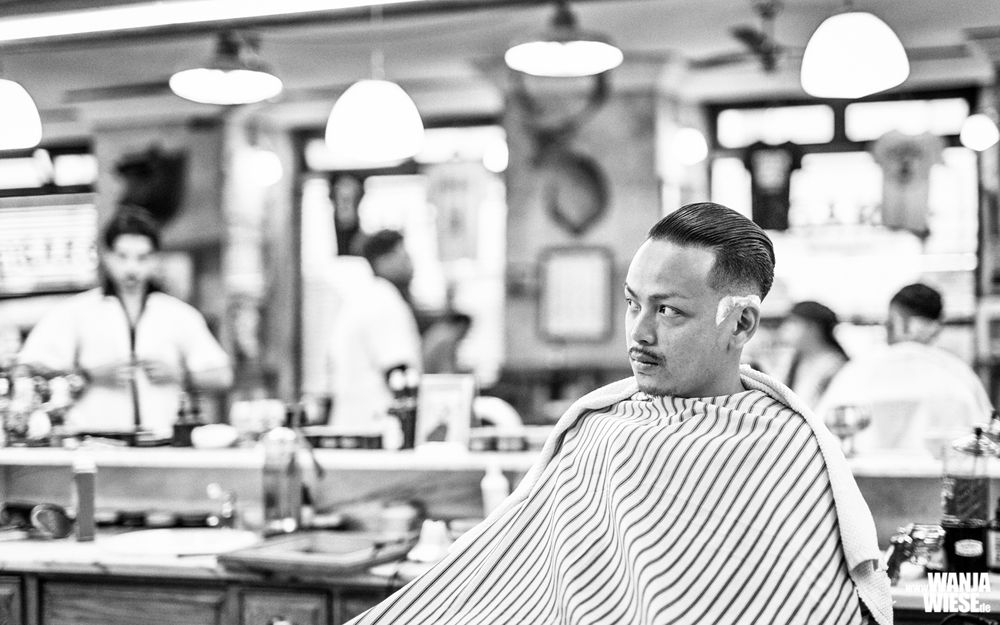 Photo in Black and White #lisbon #lisboa #lissabon #2019 #wanjawiese #© wanja wiese #eos #sigma #portugal #barber #barber shop