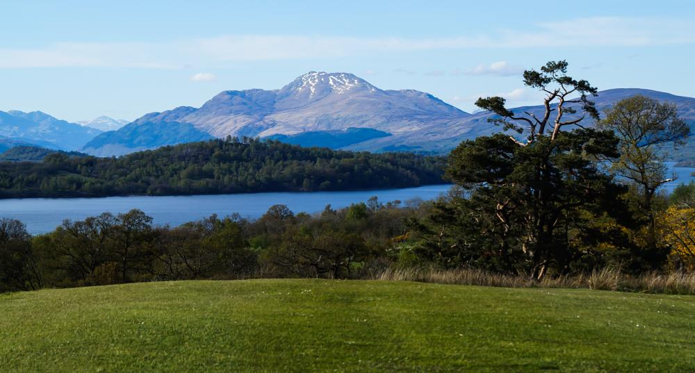 Photo in Landscape #loch lomond #ben lomond #scotland #tourist
