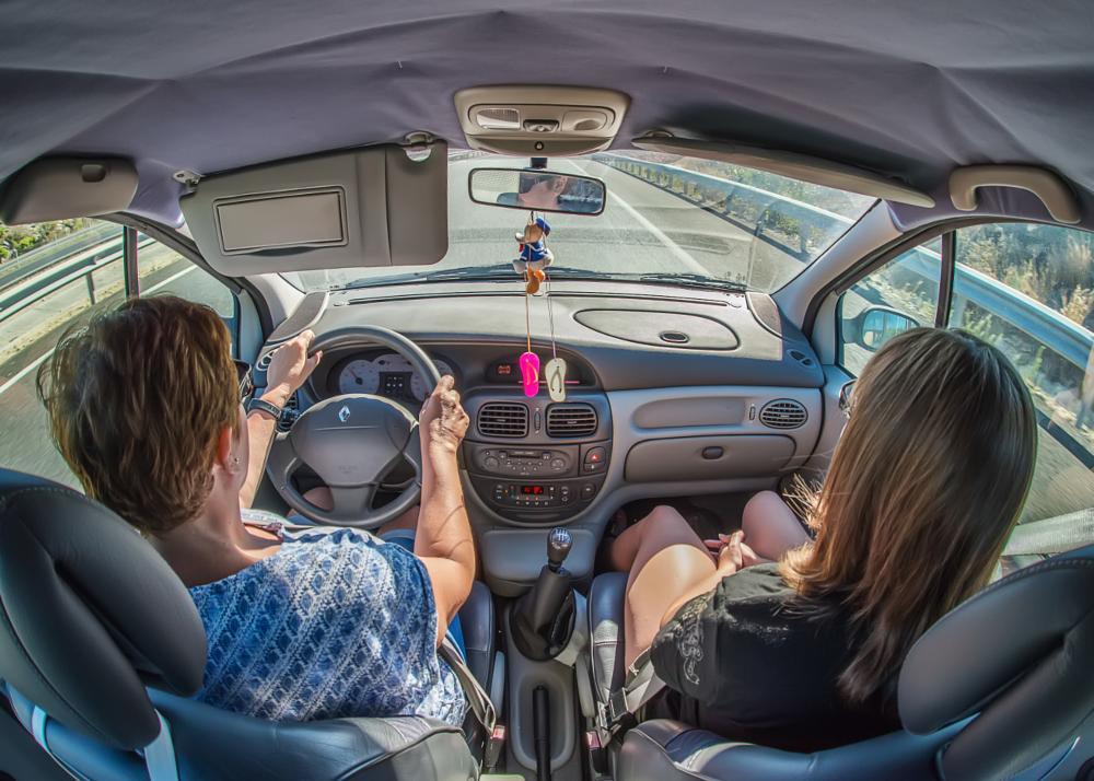 Photo in Vehicle #drive #car #vehicle #road #outoor #motorway #transport #transportation #people #nikon #nikon d610 #sigma 15mm f2.8