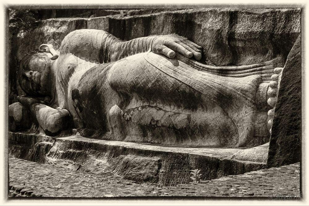 Photo in Travel #sri lanka #rural #temple #buddhism #archeology #statues #srilanka