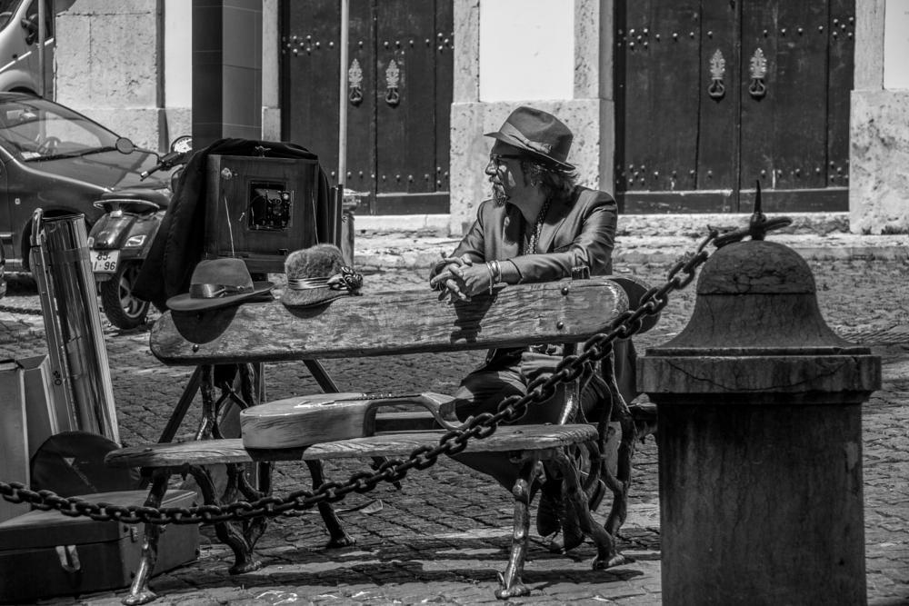 Photo in Street Photography #street photography #b&w #lisbon