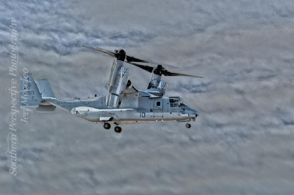 Photo in HDRI #osprey #transportation #plane #helicopter #military