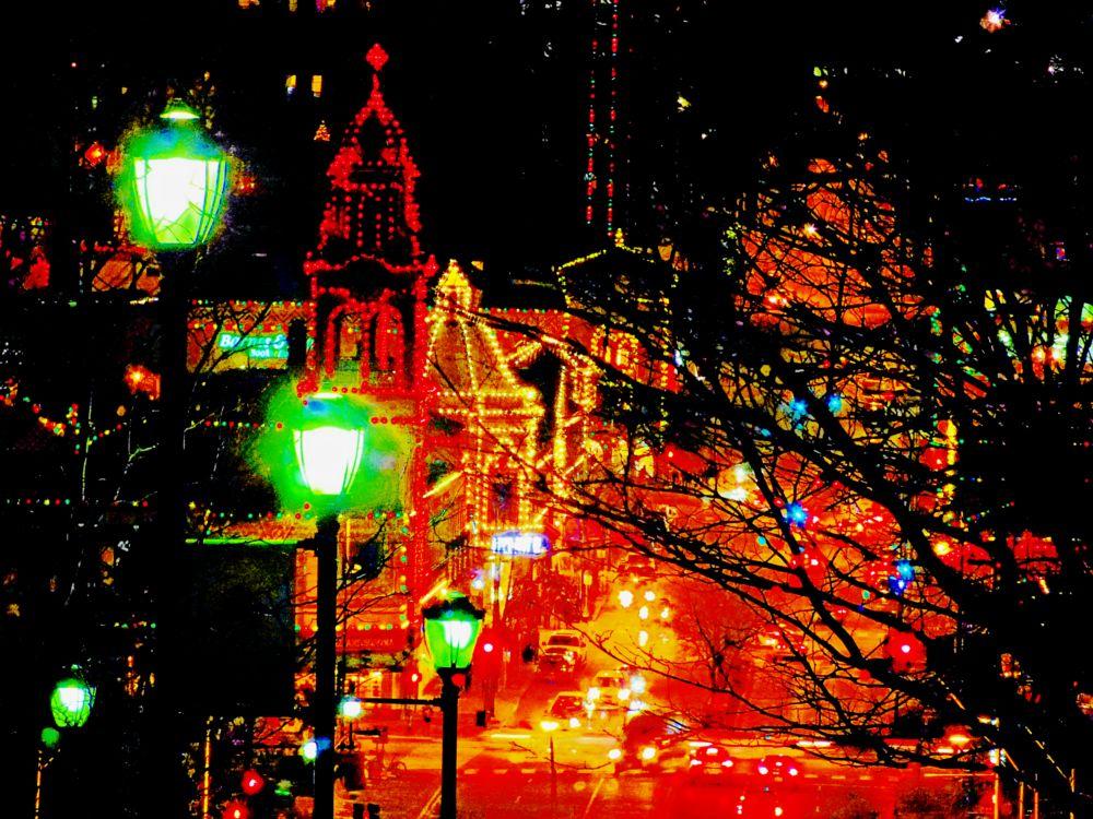 Photo in Cityscape #country club plaza #kansas city #country club plaza kansas city #kansas city christmas